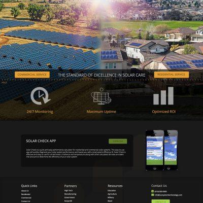 Homepage Mock